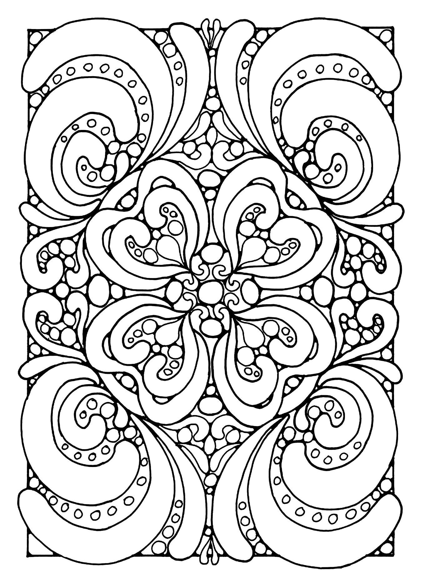 on adult coloring pages for anxiety